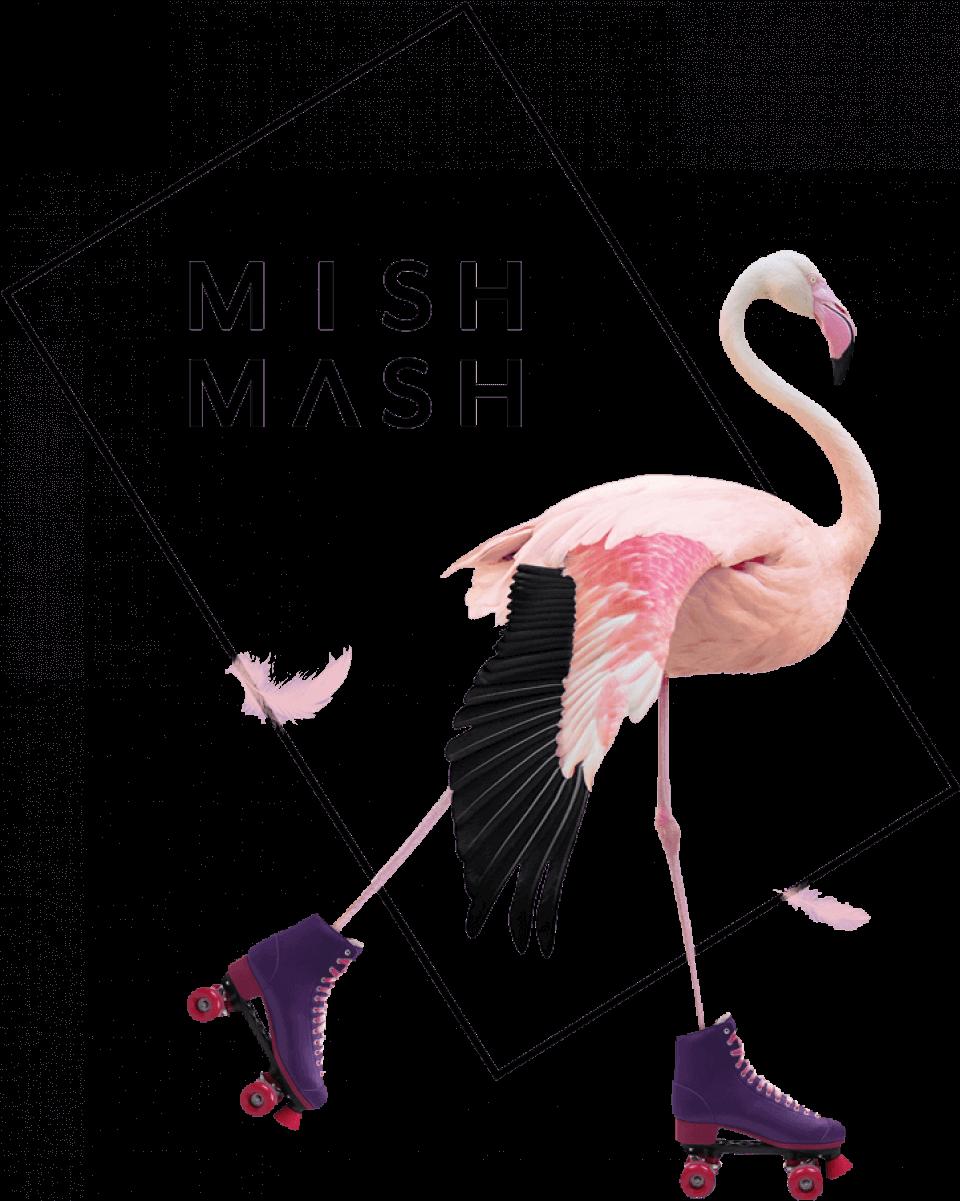 branding agency dubai - Image of Flamingo Mish Mash